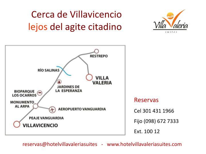 Cerca de Villavicencio