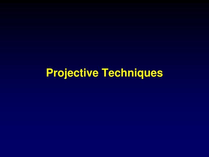 projective techniques