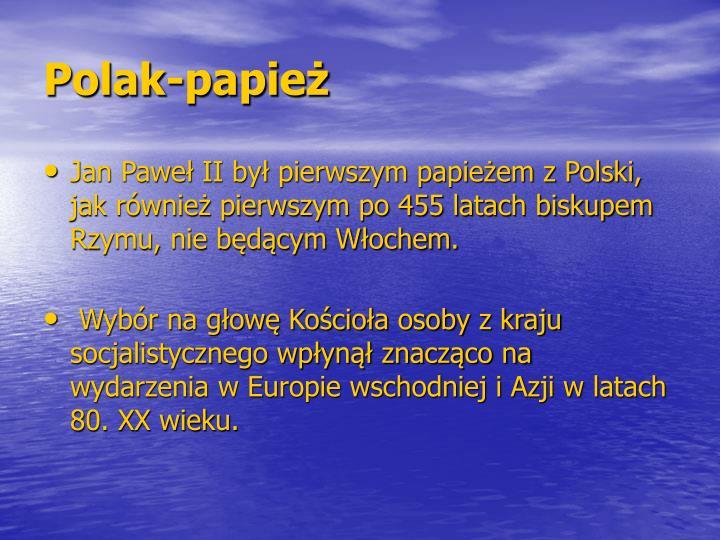 Polak-papież