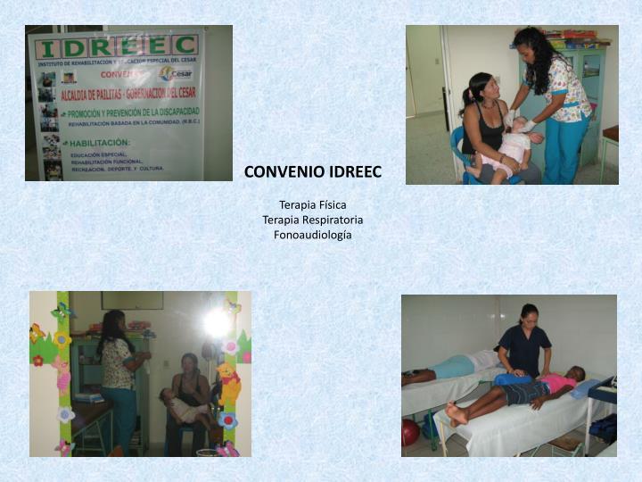 CONVENIO IDREEC