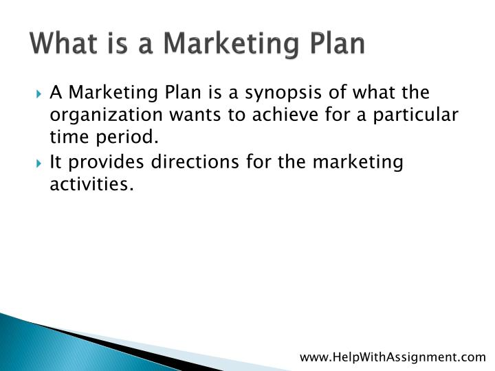What is a marketing plan l.jpg