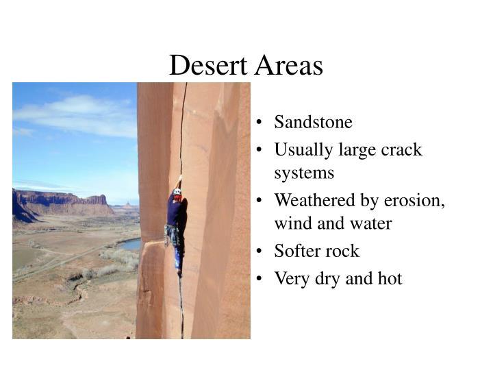 Desert Areas
