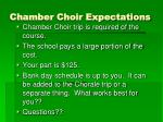 chamber choir expectations1