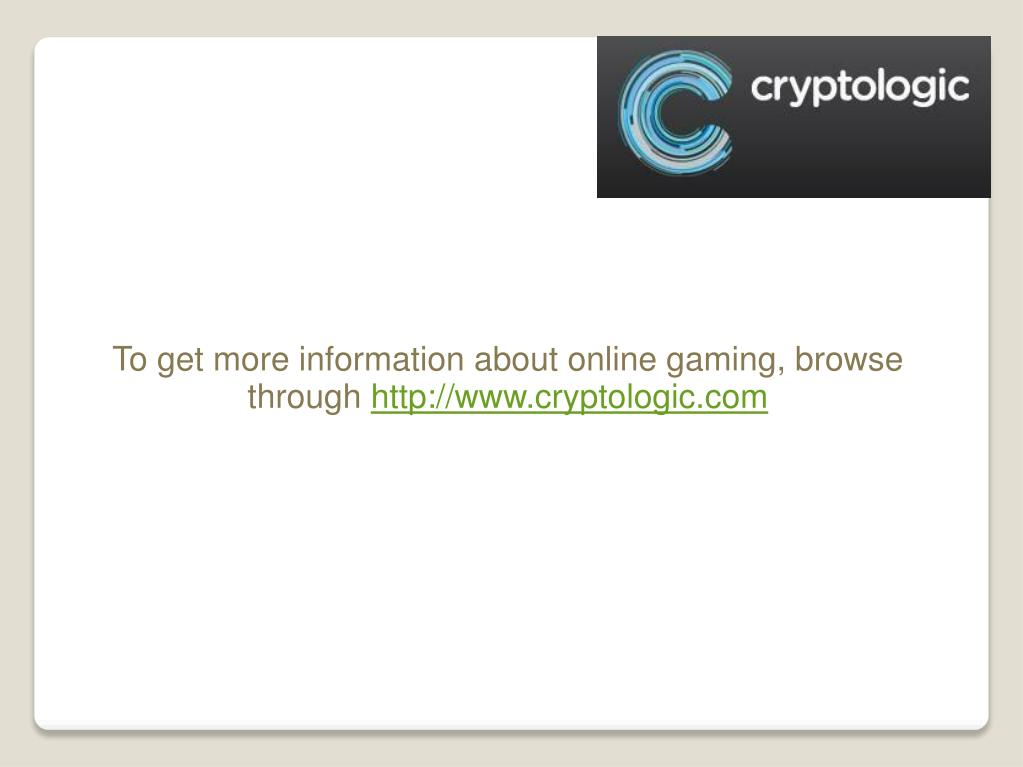To get more information about online gaming, browse through