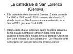 la cattedrale di san lorenzo genova
