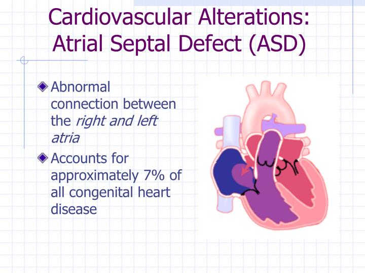 Cardiovascular Alterations: