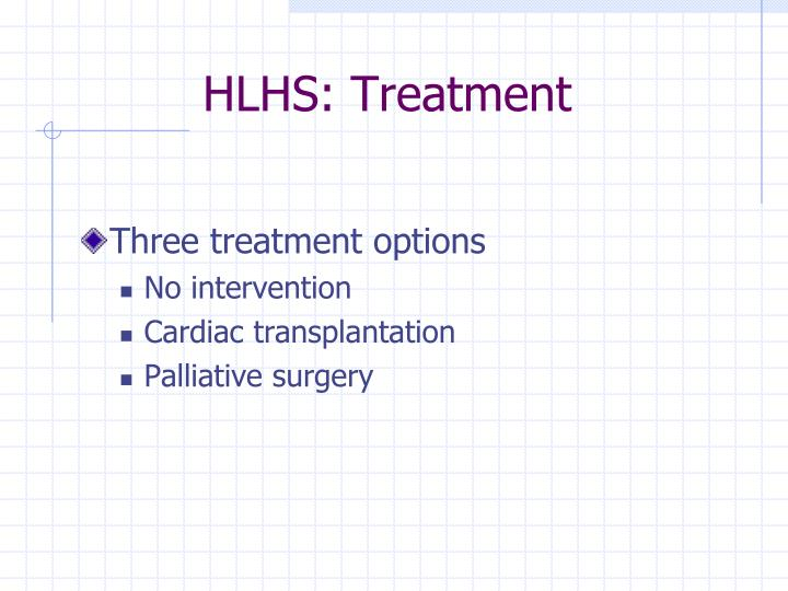 HLHS: Treatment