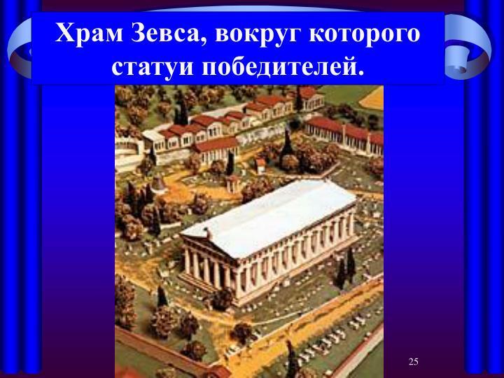 Храм Зевса, вокруг которого