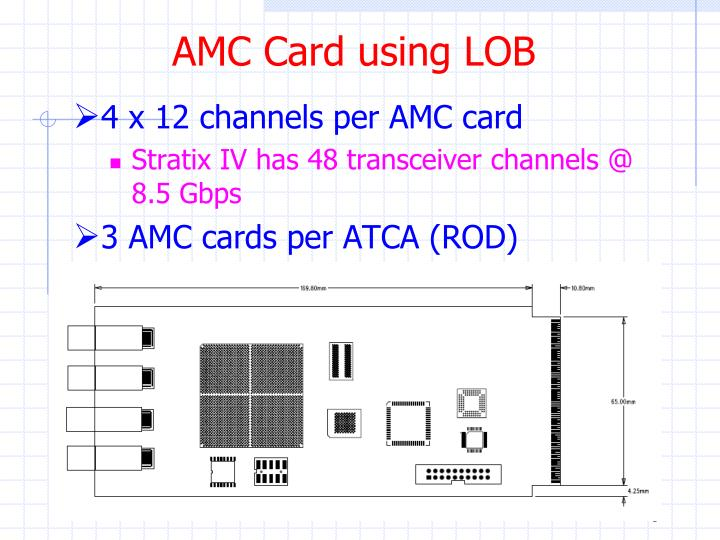 AMC Card using LOB