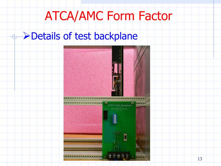 ATCA/AMC Form Factor