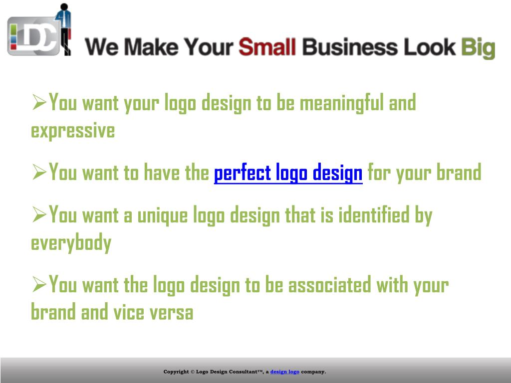You want your logo design to be meaningful and expressive