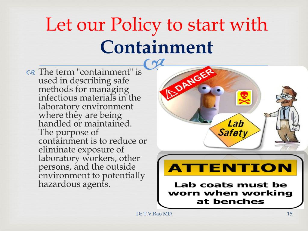 Let our Policy to start with