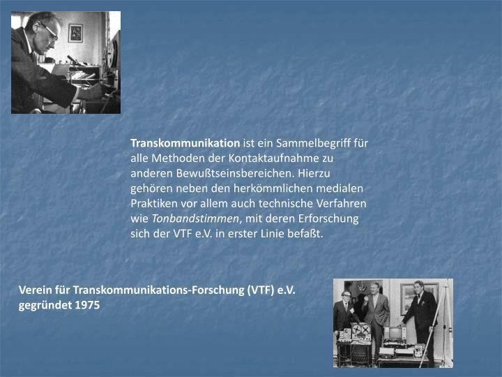 Transkommunikation