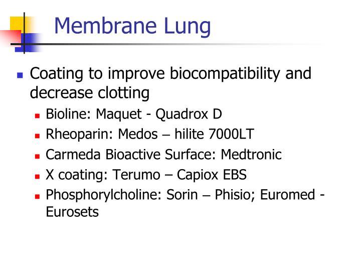 X Coating Terumo PPT - Extracorporeal C...