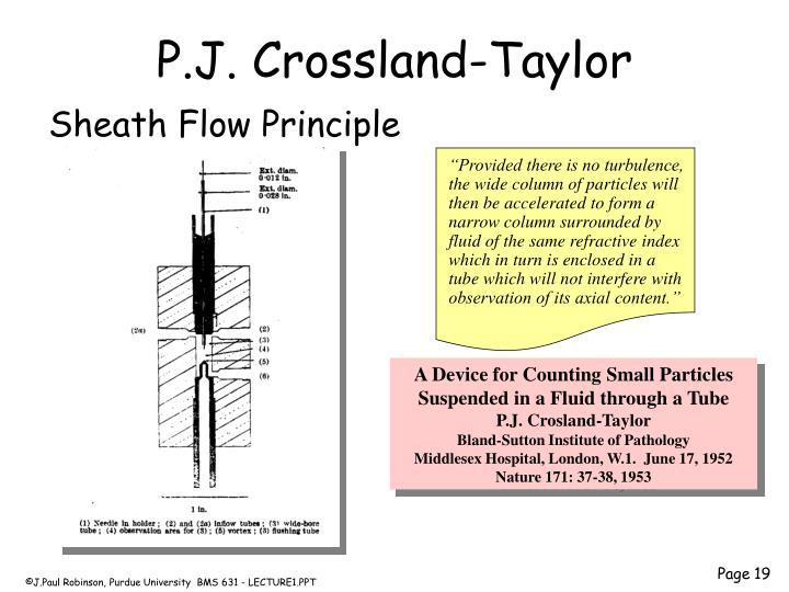 P.J. Crossland-Taylor