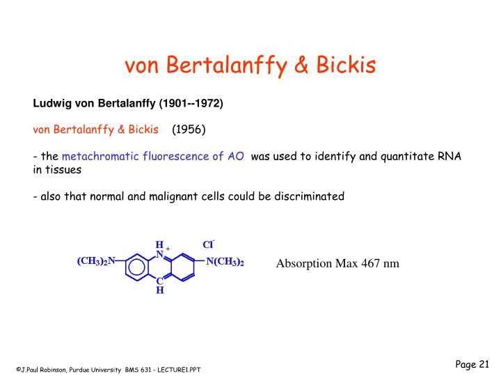 von Bertalanffy & Bickis