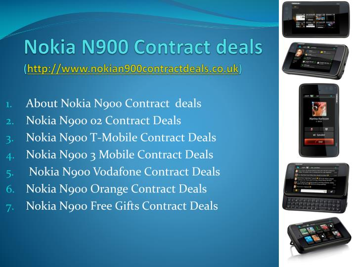 Nokia n900 contract deals http www nokian900contractdeals co uk