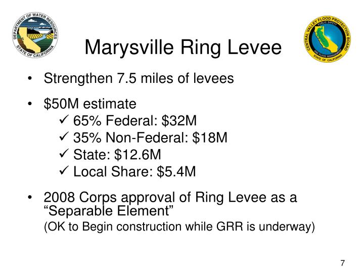 Marysville Ring Levee