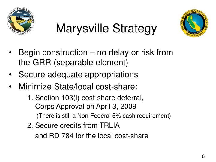 Marysville Strategy