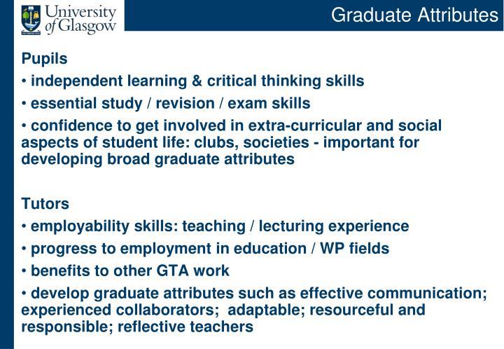 Graduate Attributes