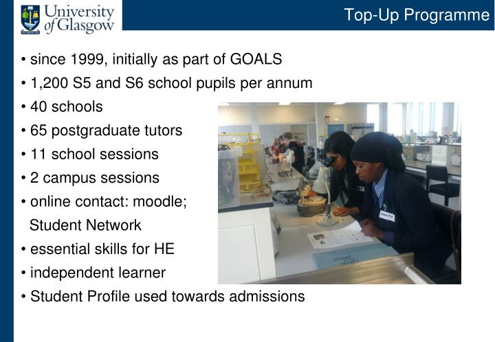 Top-Up Programme