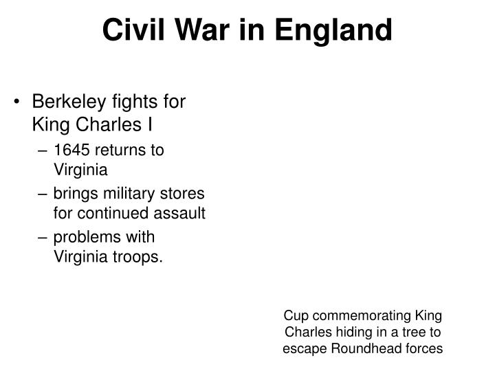 Civil War in England