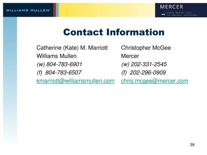 Catherine (Kate) M. Marriott