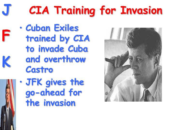 CIA Training for Invasion