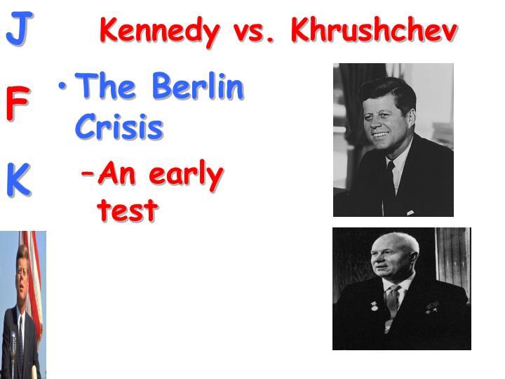 Kennedy vs. Khrushchev
