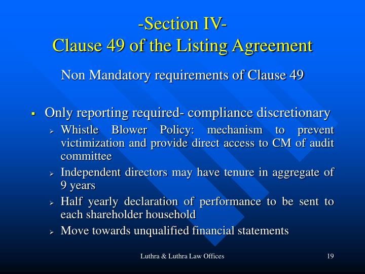 -Section IV-