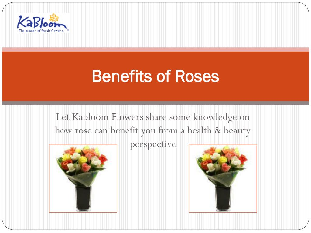 benefits of roses
