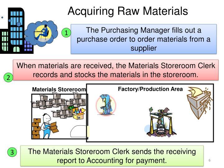 Materials Storeroom