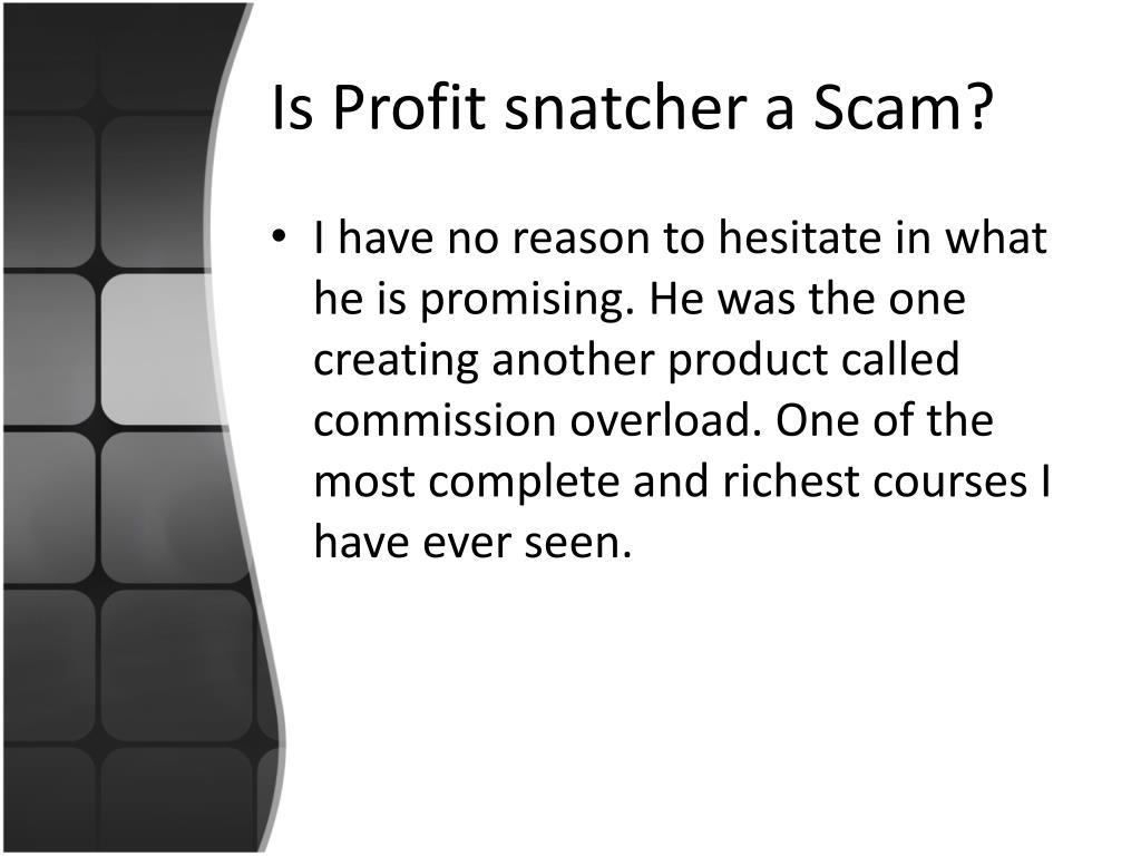 Is Profit