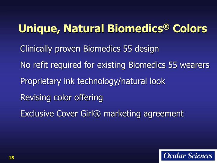Unique, Natural Biomedics