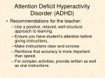 attention deficit hyperactivity disorder adhd1