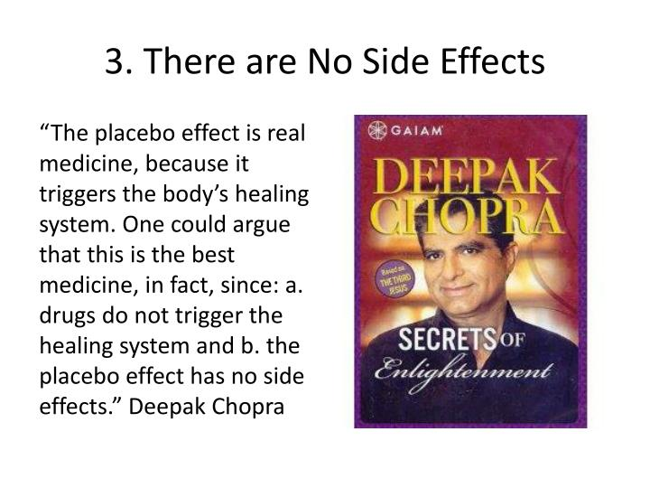 3. There are No Side Effects