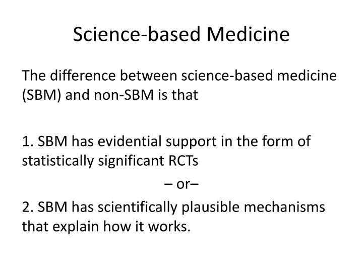 Science-based Medicine
