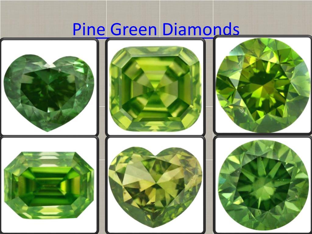 Pine Green Diamonds