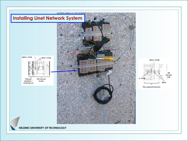 Installing Linet Network System