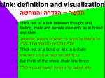 link definition and visualization1