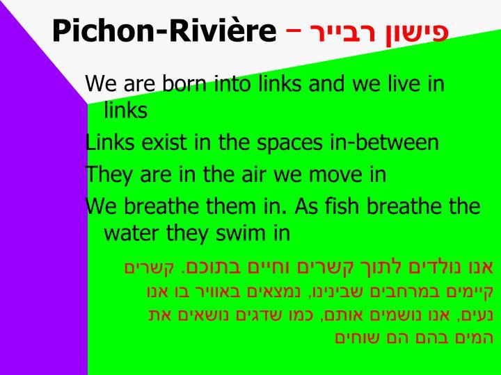 Pichon-Rivi