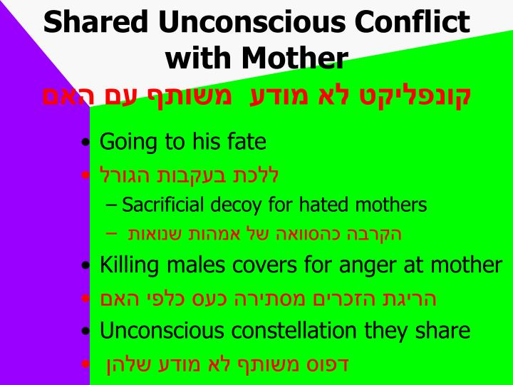 Shared Unconscious Conflict