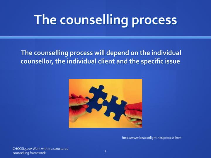 The counselling process