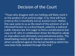 decision of the court3