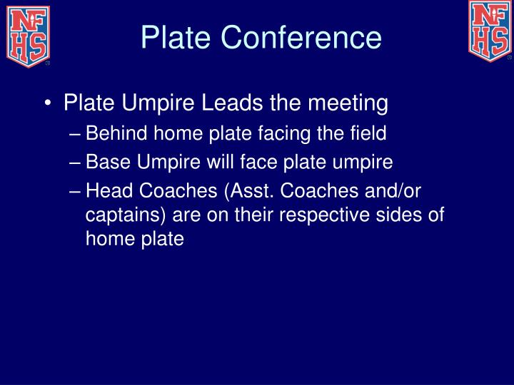 Plate Conference