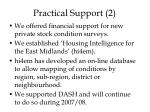 practical support 2