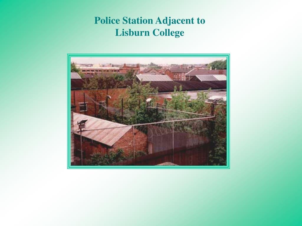 Police Station Adjacent to Lisburn College