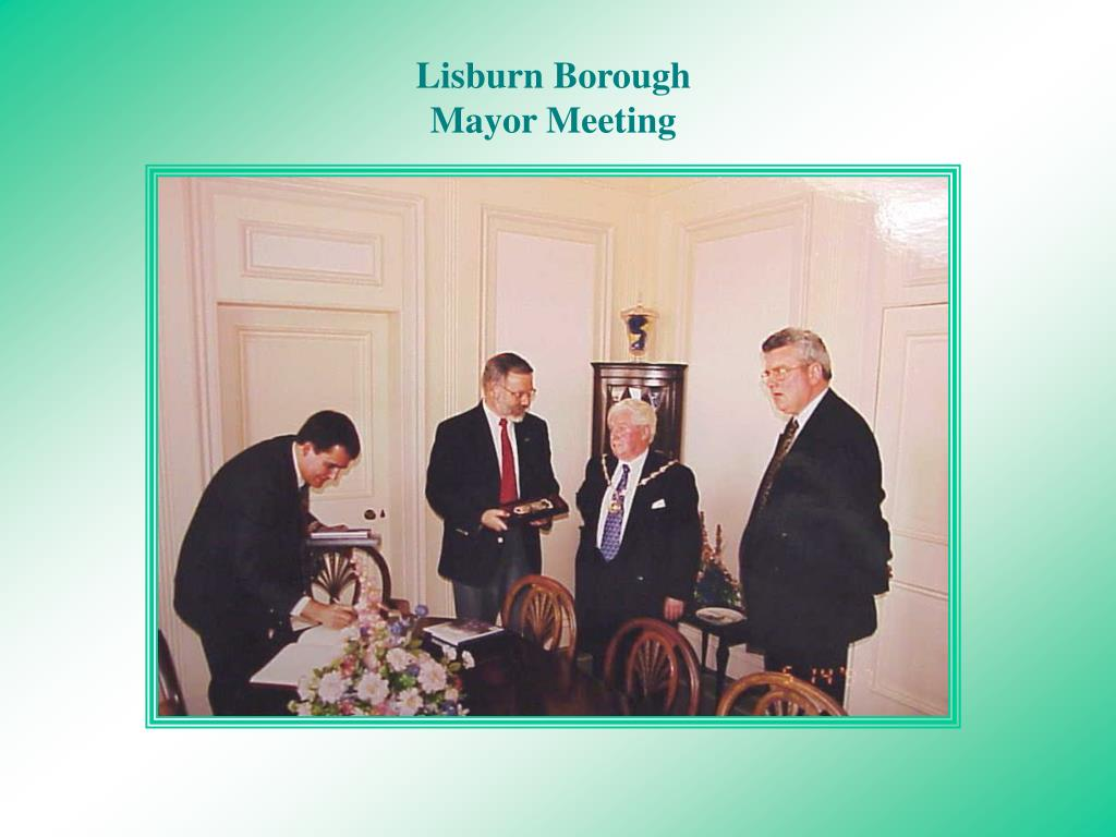 Lisburn Borough Mayor