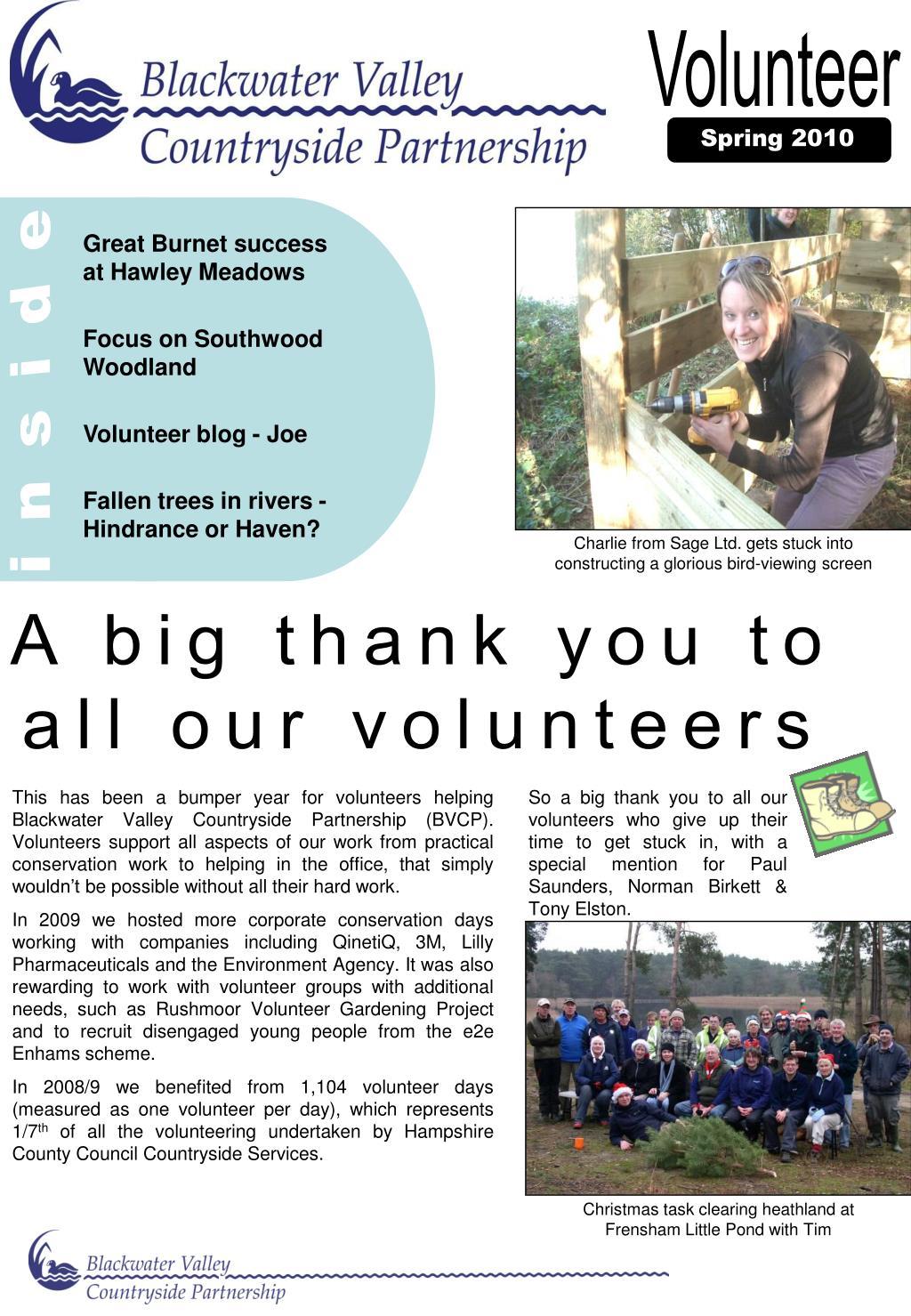Great Burnet success at Hawley Meadows