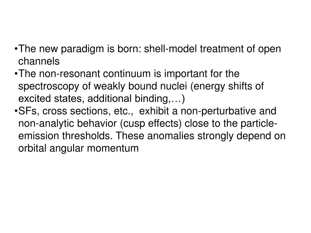 The new paradigm is born: shell-model treatment of open channels